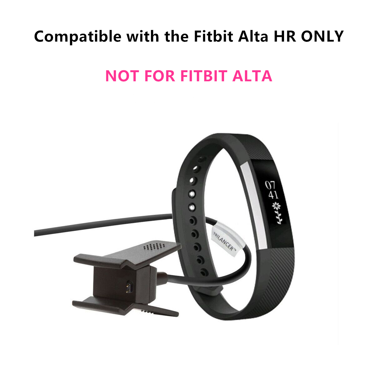 Charging Cable Charger for Fitbit Alta HR, Trilancer