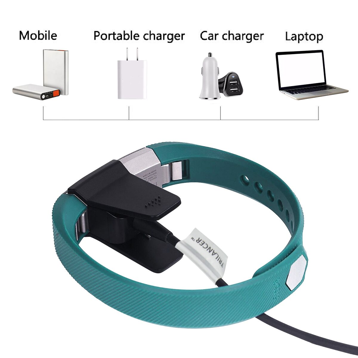 Charging Cable Charger For Fitbit Alta Hr Trilancer